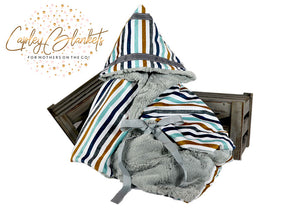 Carson the first multi functional baby blanket