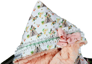 Samantha the first multi functional baby blanket