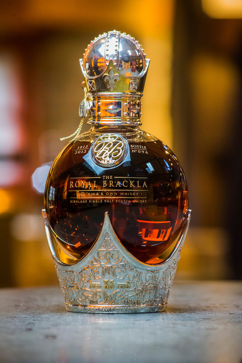 Royal Brackla 35 year old whisky
