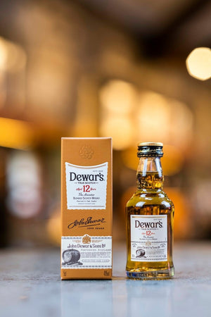 Dewar's 12 Year Old 5cl 'mini' whisky