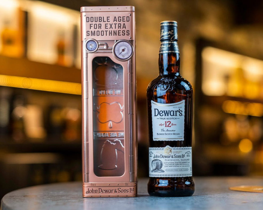 Dewar's 12 Year Old with gift tin