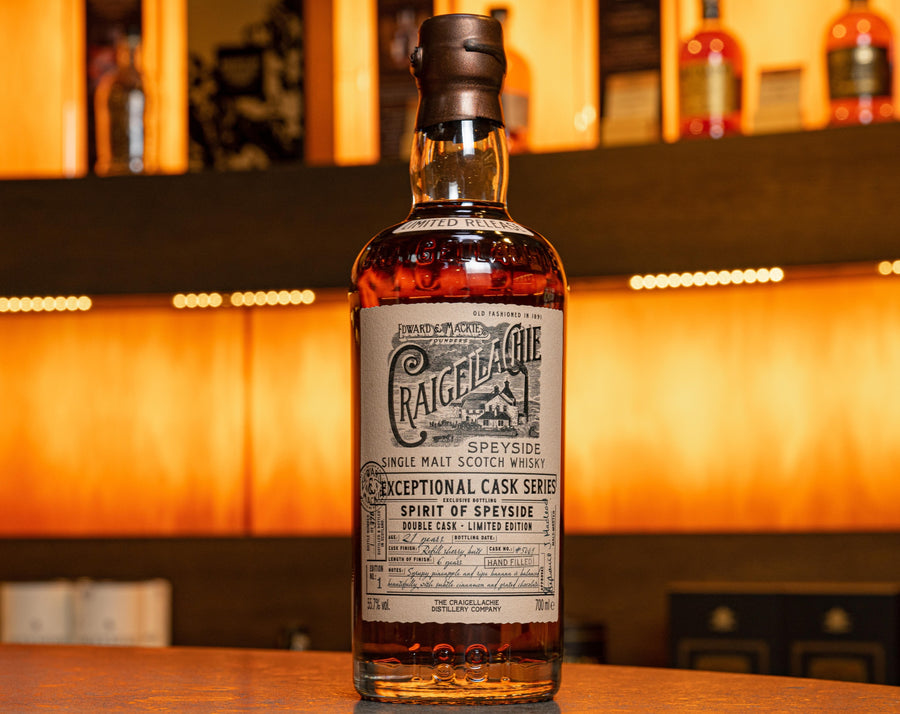 Spirit of Speyside Craigellachie 21 Year Old - Limited Edition