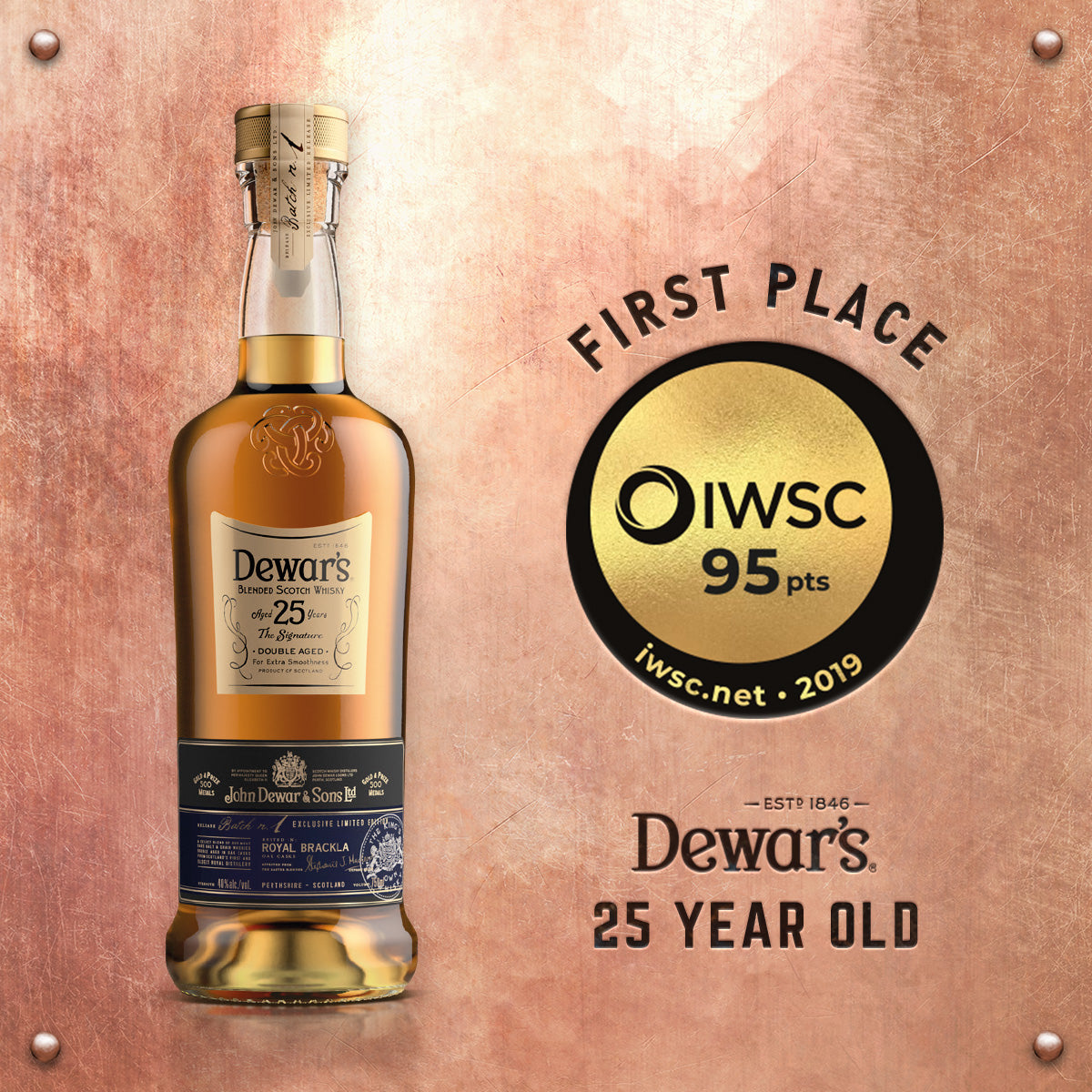 Buy Dewar's 25 Year Old Blended Scotch Whisky