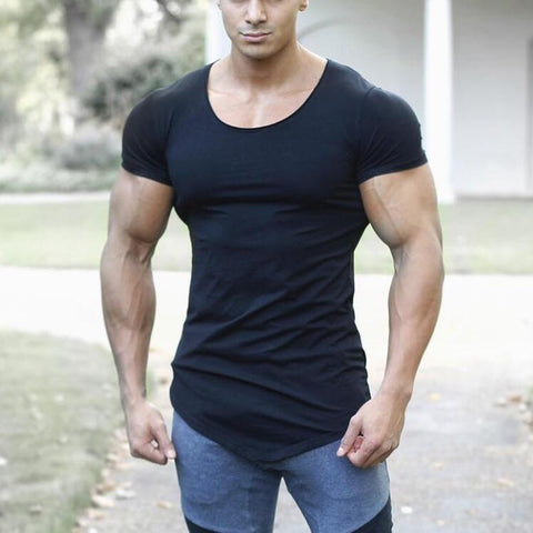 Mens Fitness Tight t-shirt