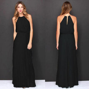 Hot Sleeveless Long Maxi Dress