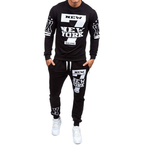 2019 new Fashion Winter Sweatshirt Top & Pants Sets .