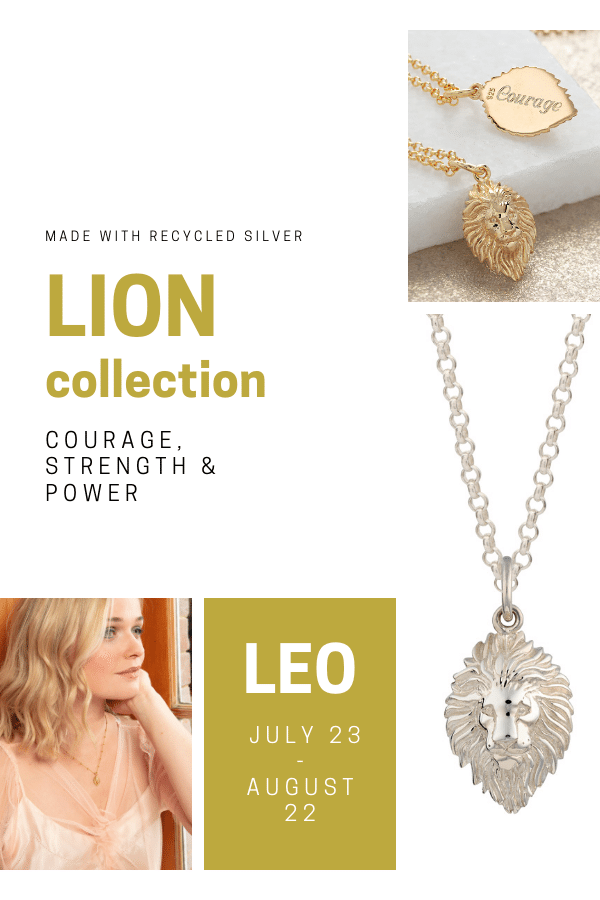 Lion Jewellery, on trend now!
