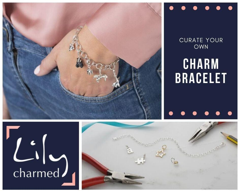 Create your own charm bracelet - the perfect gift