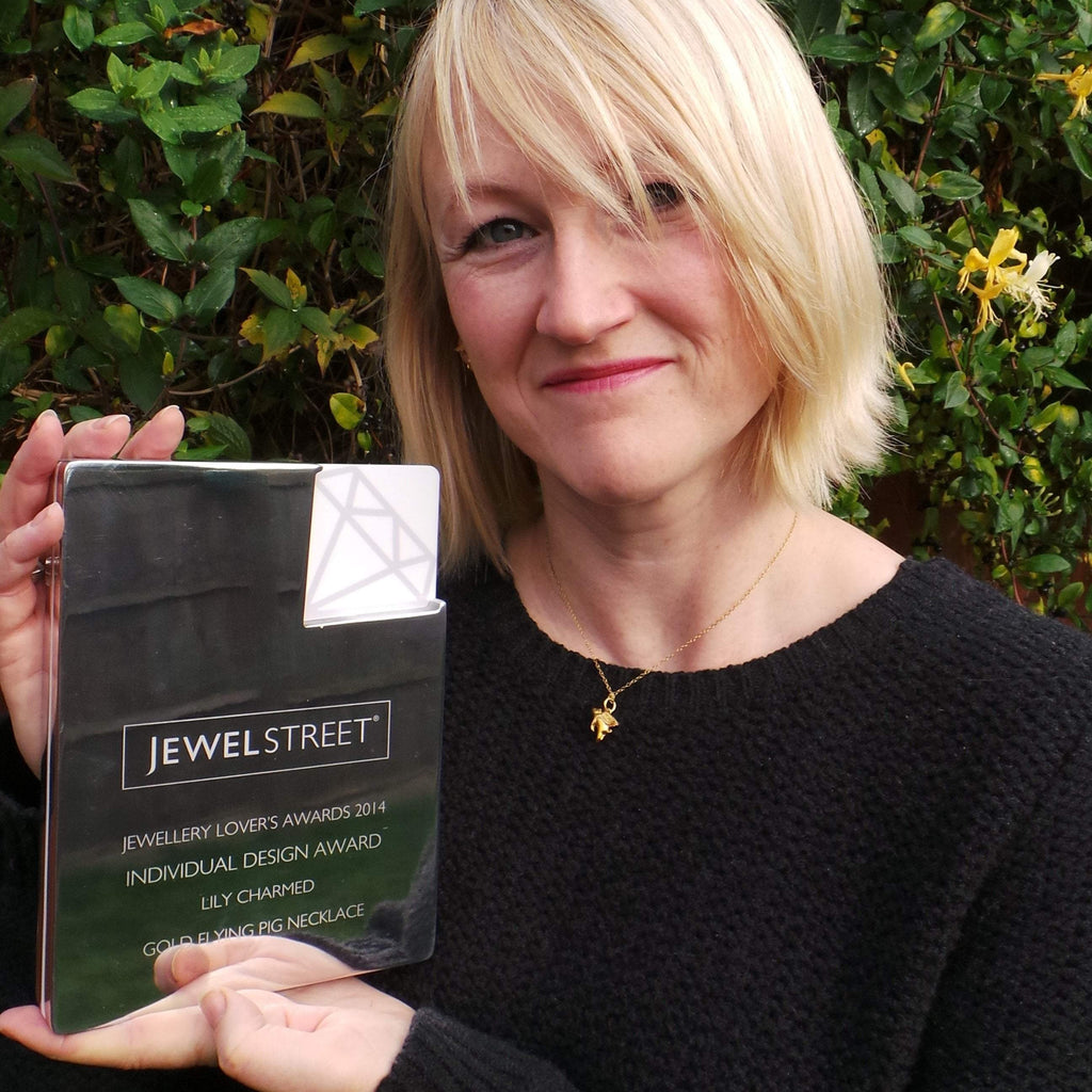 Lily Charmed - Wins Jewellery Design Awards 2014