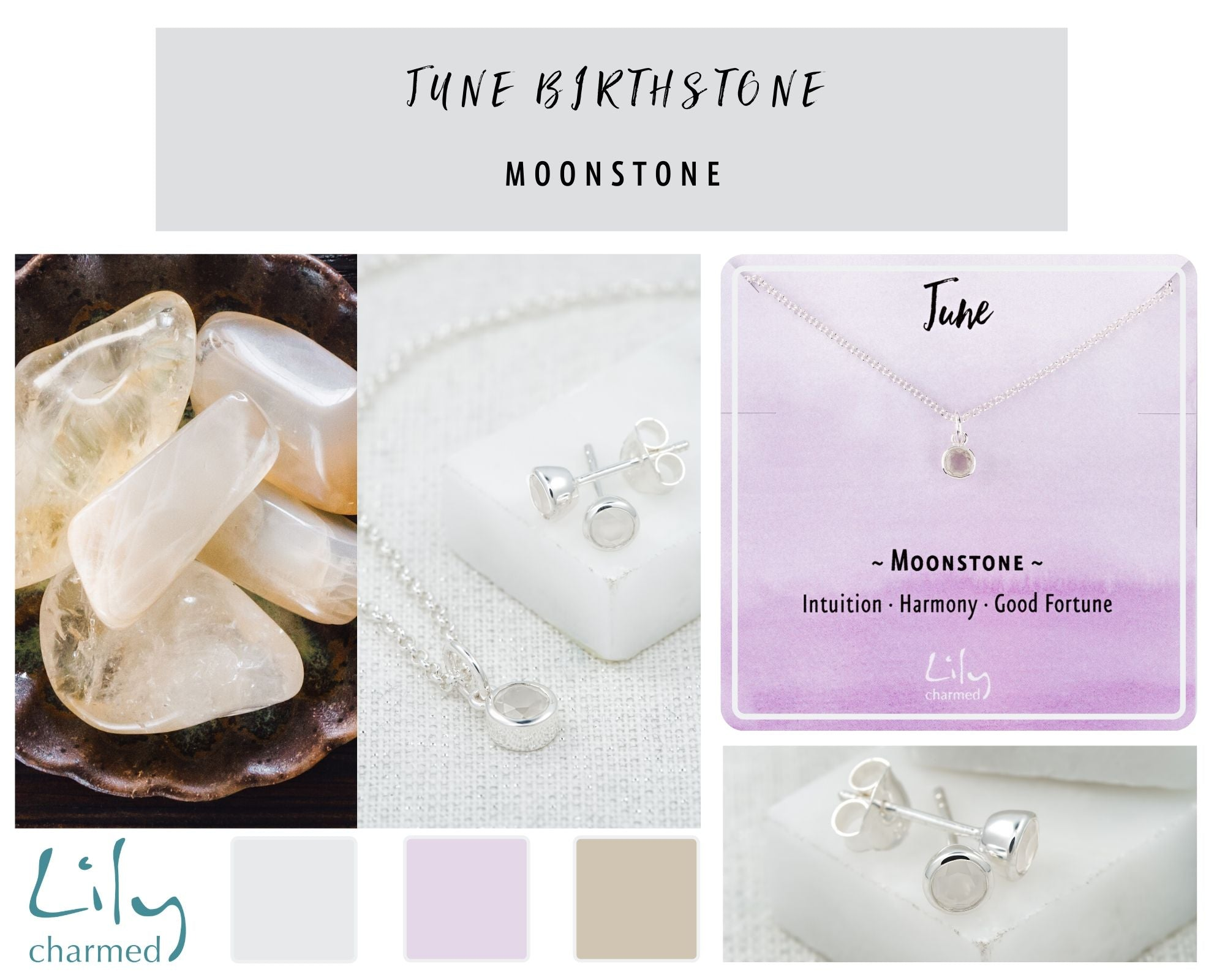 June Birthstone moonstone