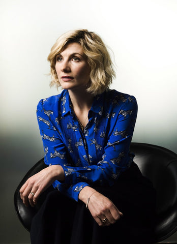 Jodie Whittaker Doctor Who in Lily Charmed Jewellery