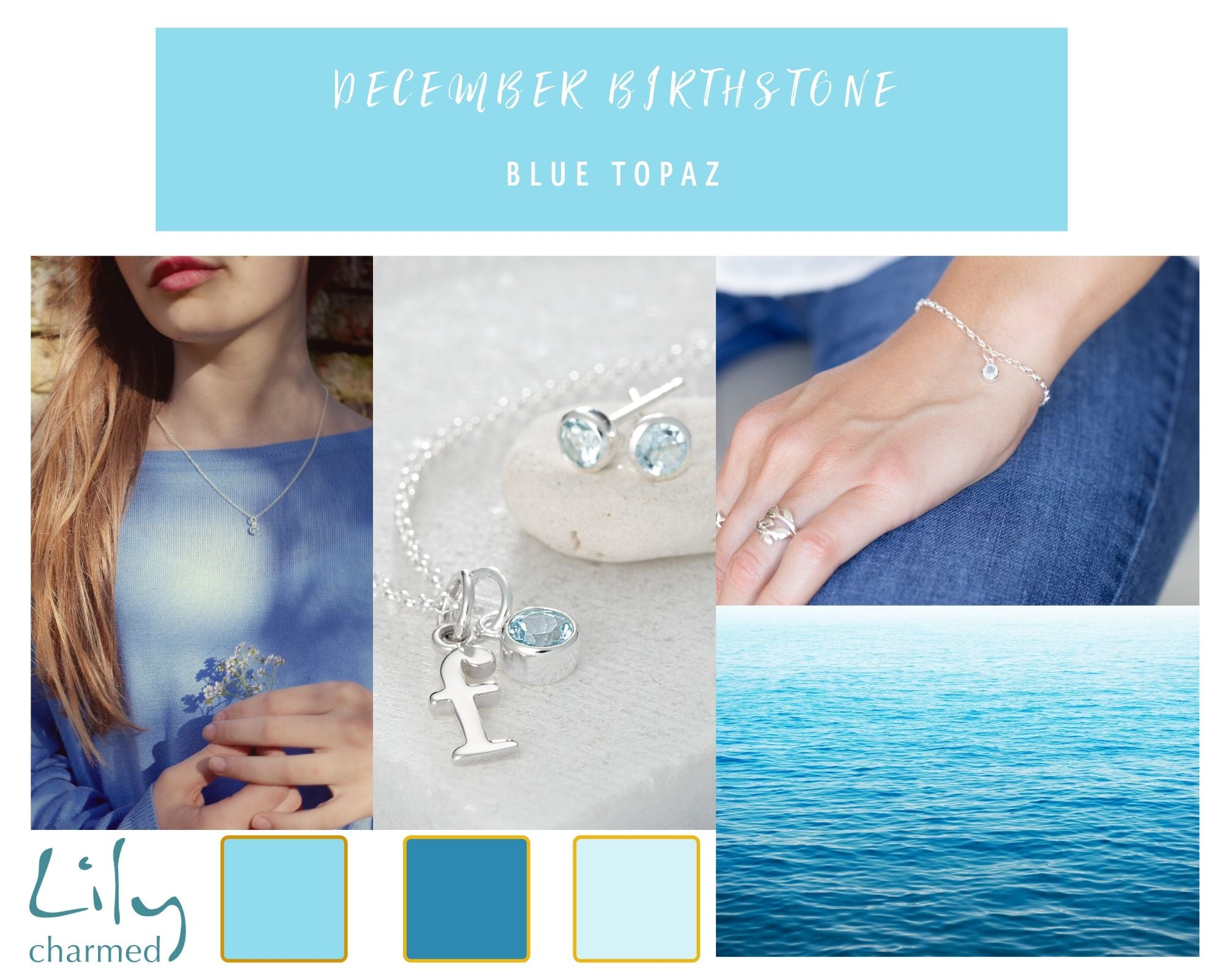 Blue Topaz December Gemstone