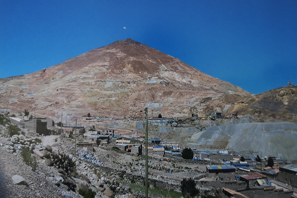 Potosi Silver Mine in Bolivia