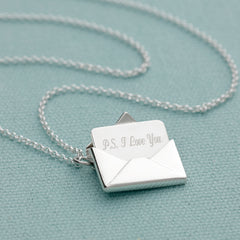 Envelope and Letter necklace