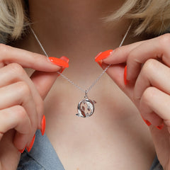 Pisces Necklace Lily Charmed