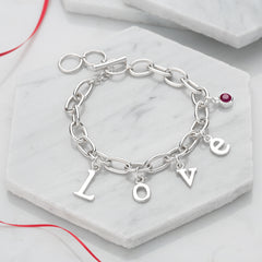 Love Charm Bracelet by Lily Charmed