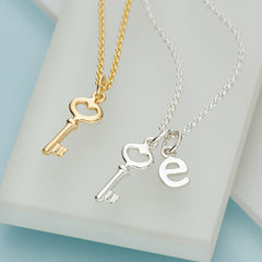 Personalised Key Necklace by Lily Charmed