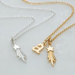 Shooting Star Necklace by Lily Charmed