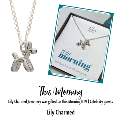 This Morning gifts Lily Charmed Jewellery to their guest Celebrities