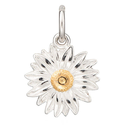 Lily Charmed Silver Daisy Charm