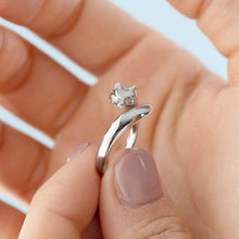 Silver Fox Ring - Lily Charmed