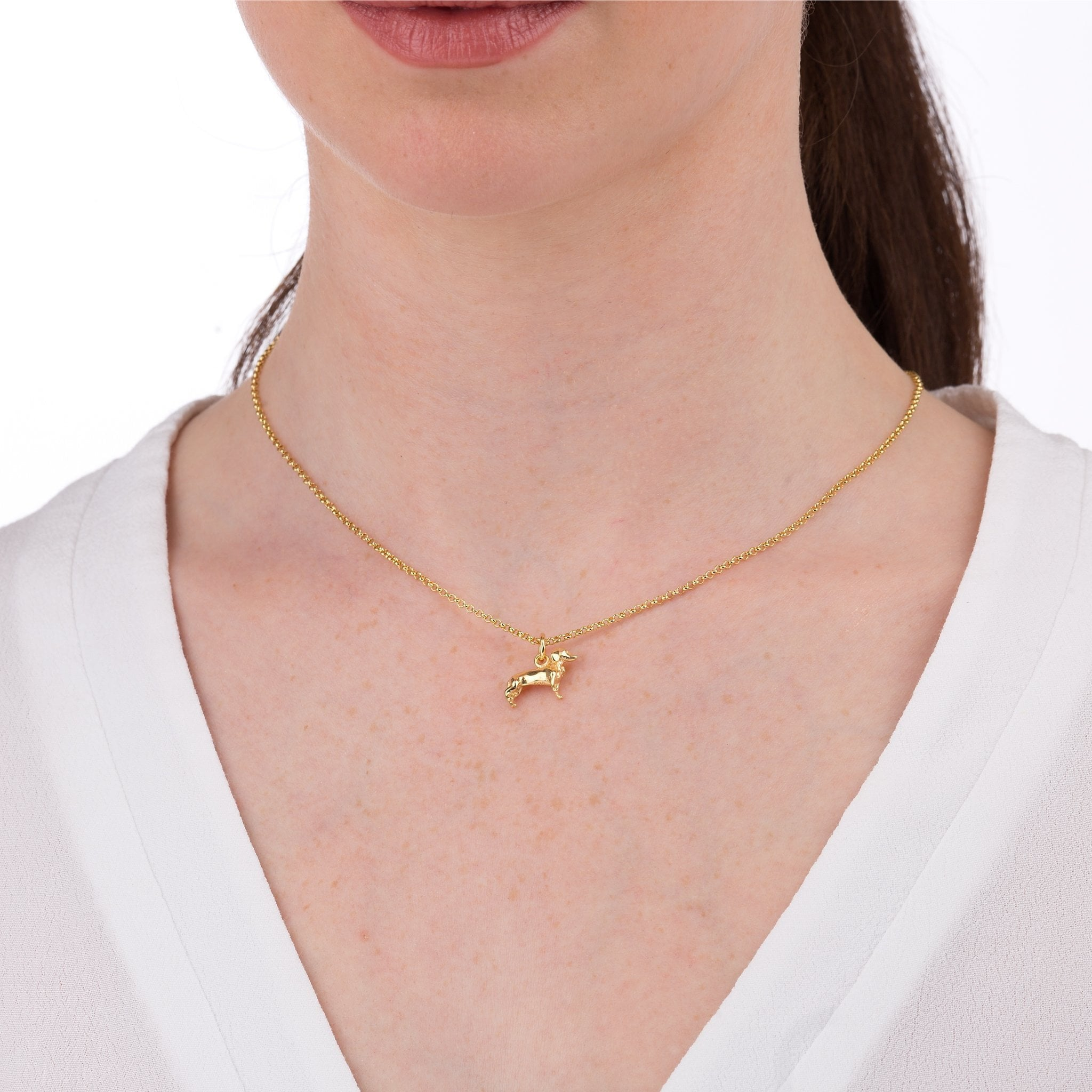 Jewels Obsession Bee Necklace 14K Rose Gold-plated 925 Silver Bee Pendant with 16 Necklace