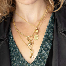 Gold Plated Charm Collector Necklaces by Lily Charmed