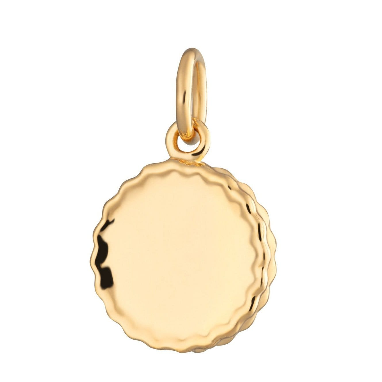 Gold Plated Jammie Dodger Charm