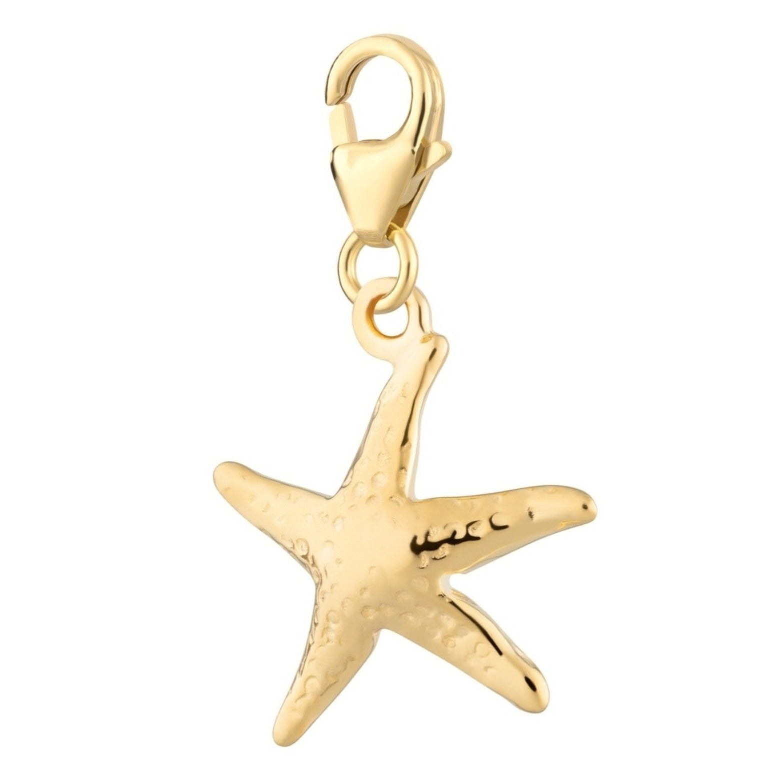 Gold Plated Starfish Charm