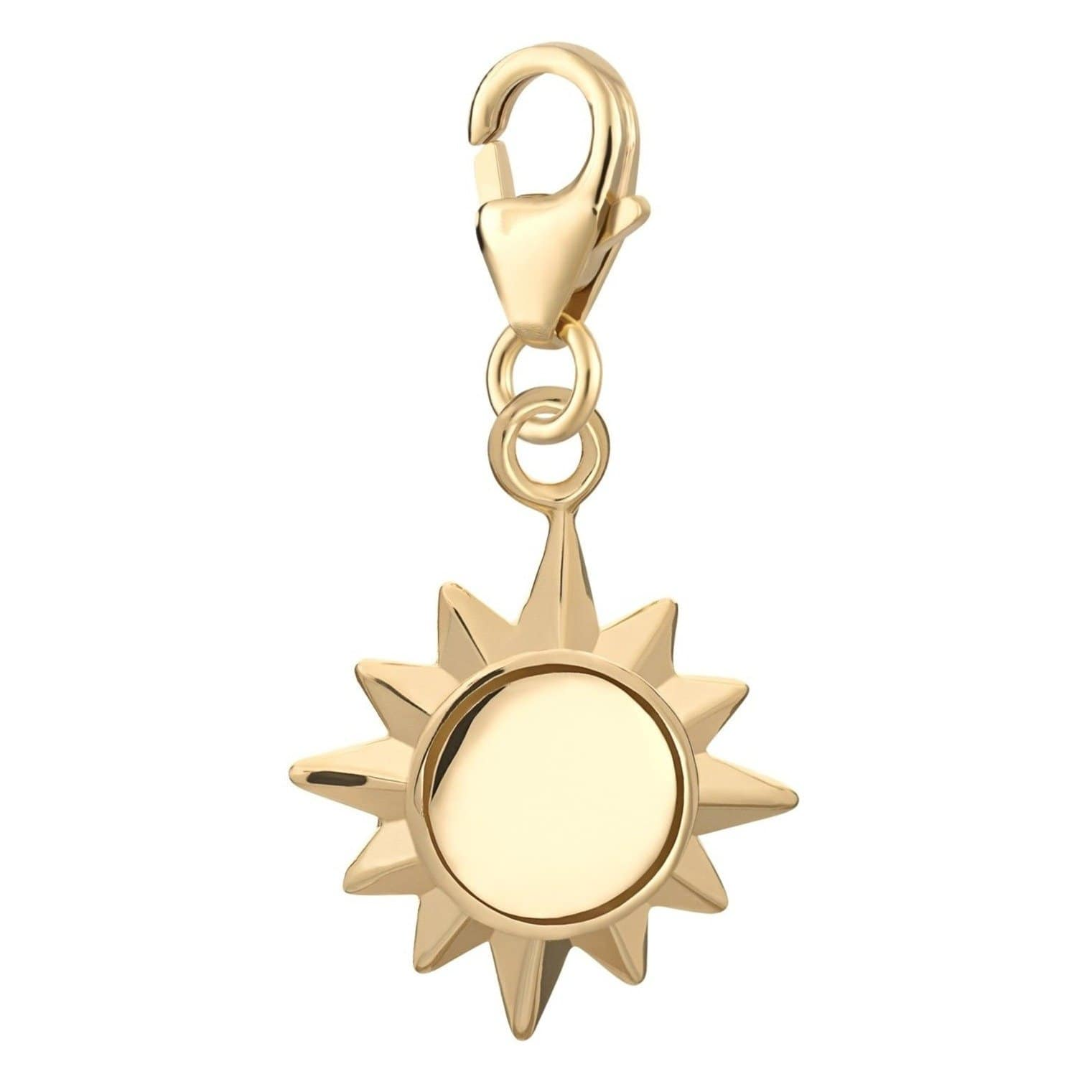 Gold Plated Sunshine Charm