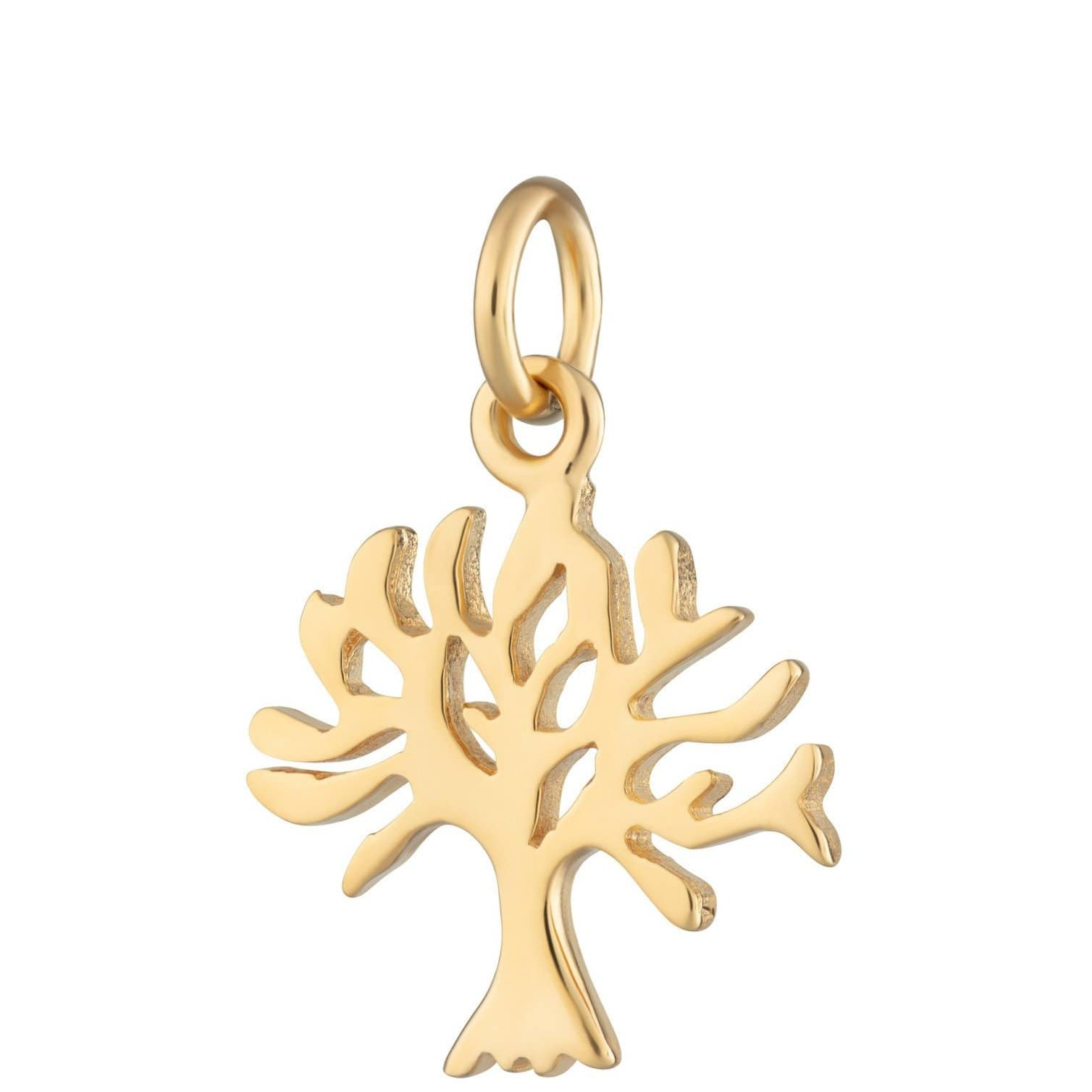Gold Plated Tree Charm by Lily Charmed