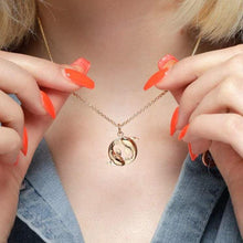 Personalised Gold Plated Koi Fish Pisces Zodiac Necklace - Lily Charmed