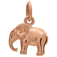 Rose Gold Plated Elephant Charm - Lily Charmed