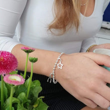 Silver Ball Charm Bracelet - Lily Charmed