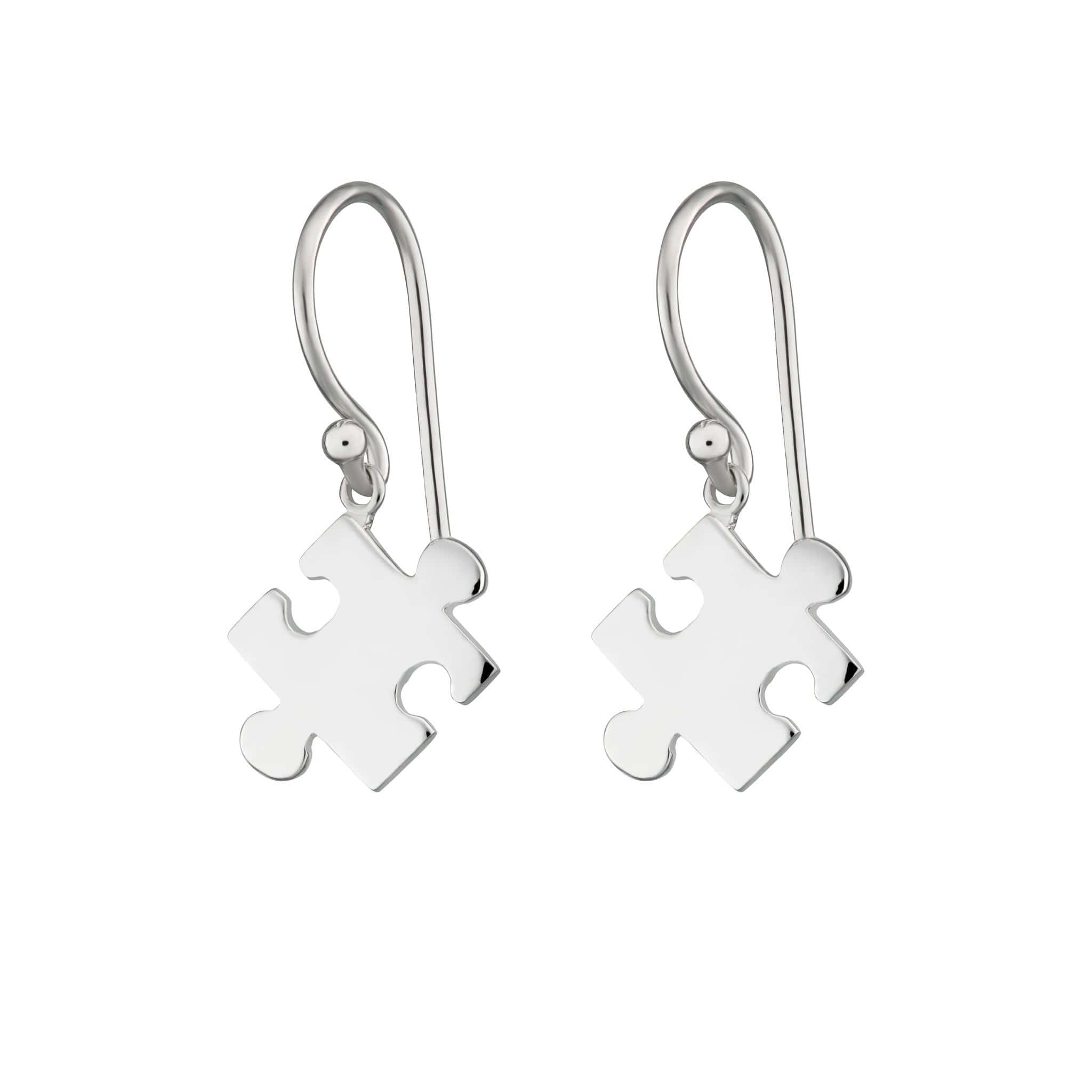 Jigsaw Hook Earrings - Lily Charmed