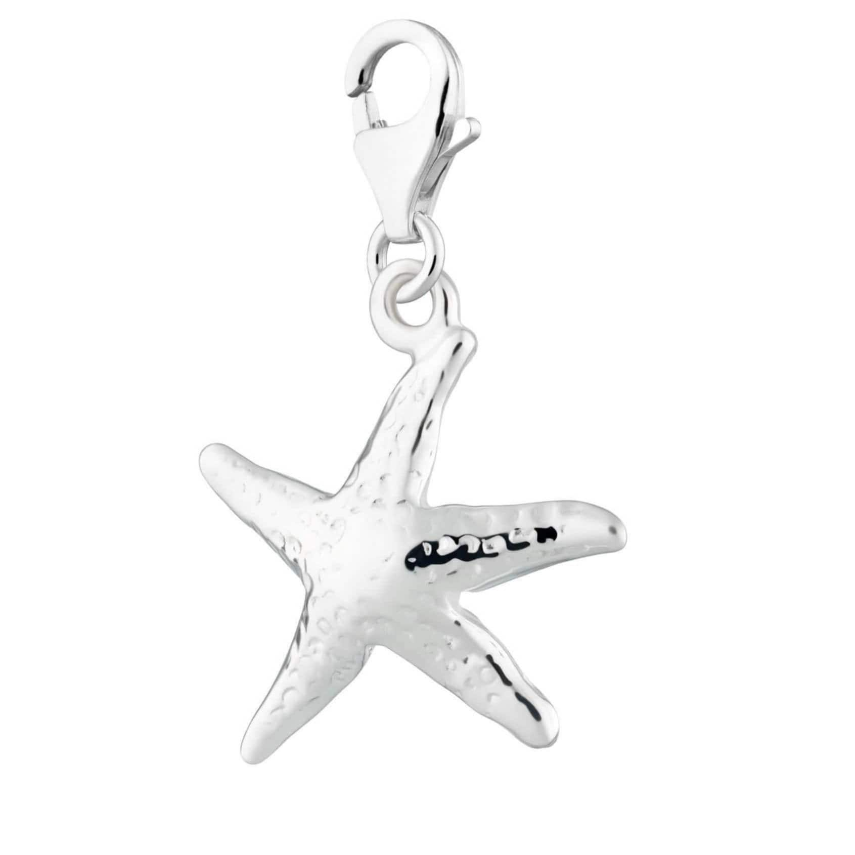 Silver Starfish Charm - Lily Charmed