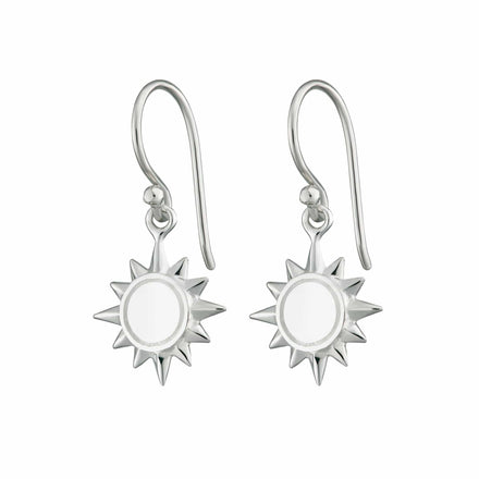 Sun Hook Earrings - Lily Charmed