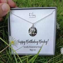 Personalised Silver Taurus Zodiac Necklace - Lily Charmed