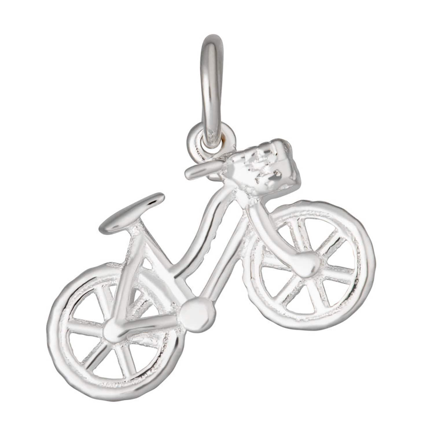 Silver Bicycle Charm - Lily Charmed