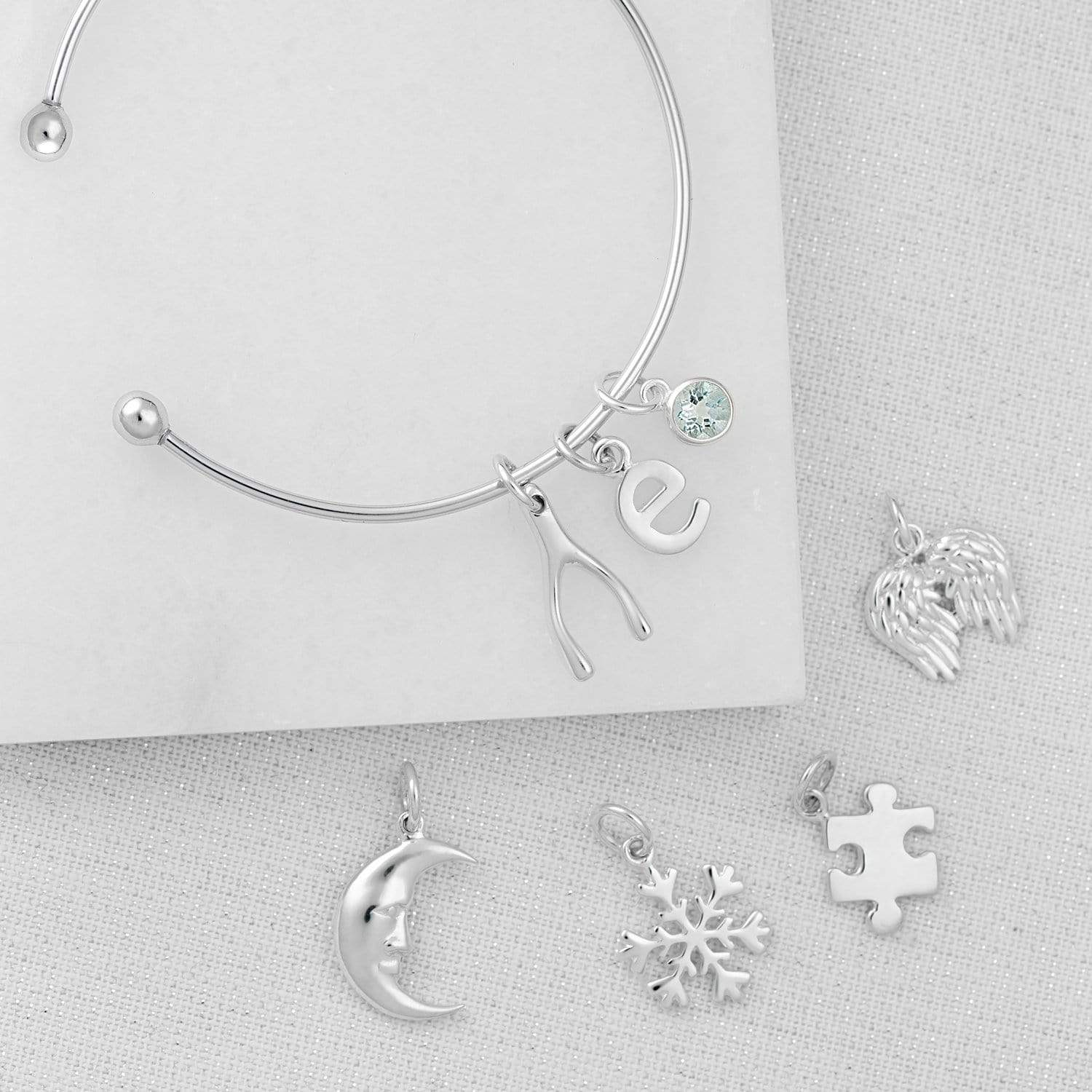 Silver Moon Charm - Lily Charmed