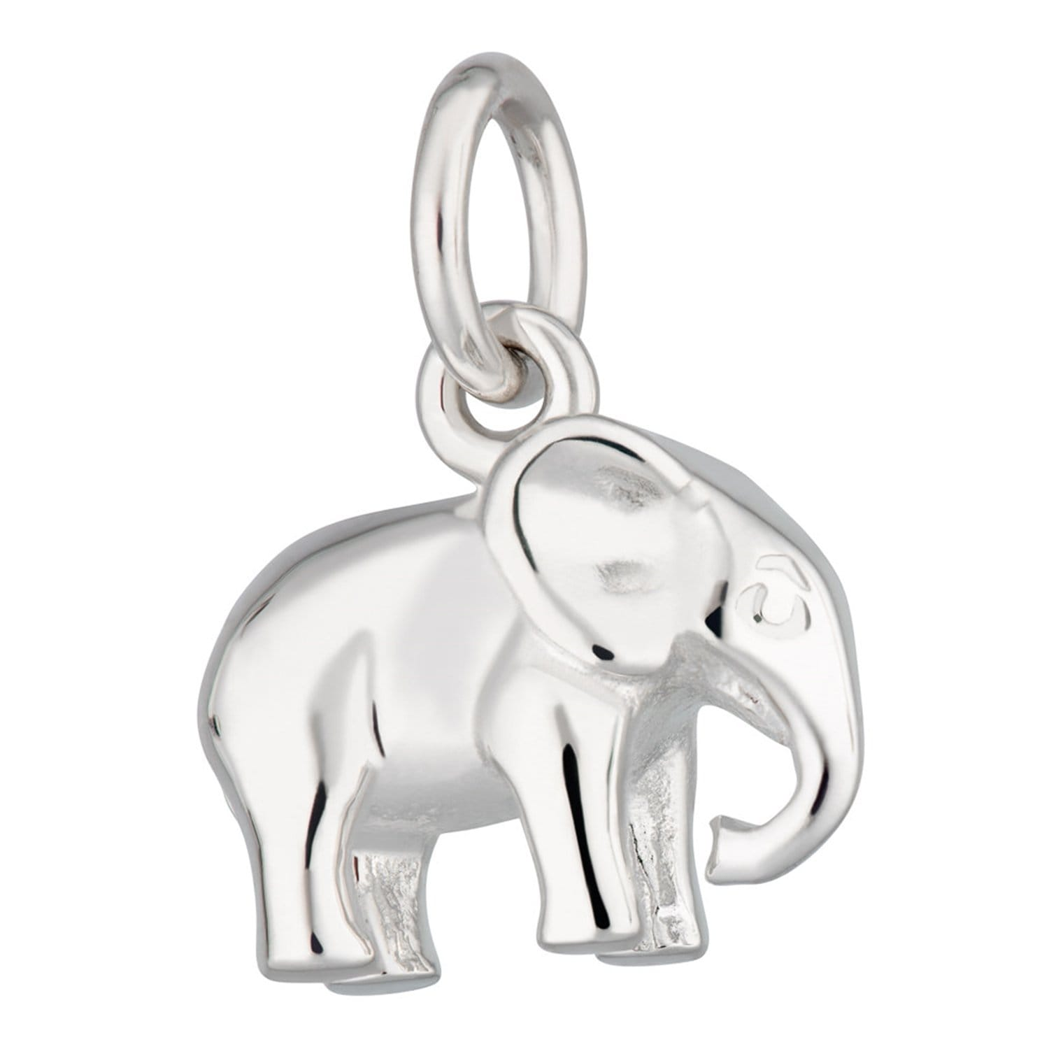 Silver Elephant Charm - Lily Charmed