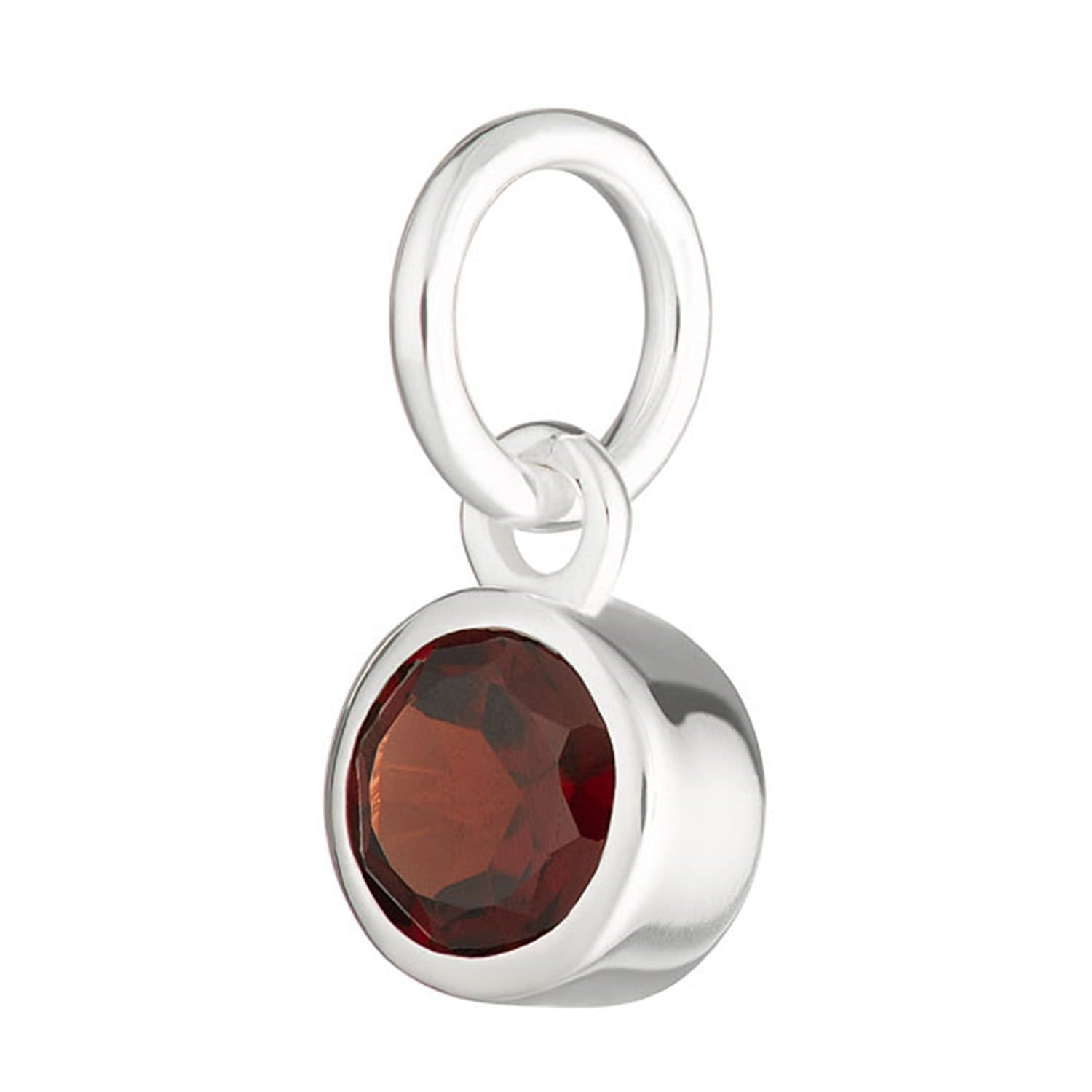 Garnet Charm - January Birthstone