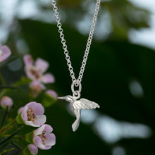 Silver Hummingbird Jewellery Set With Stud Earrings - Lily Charmed
