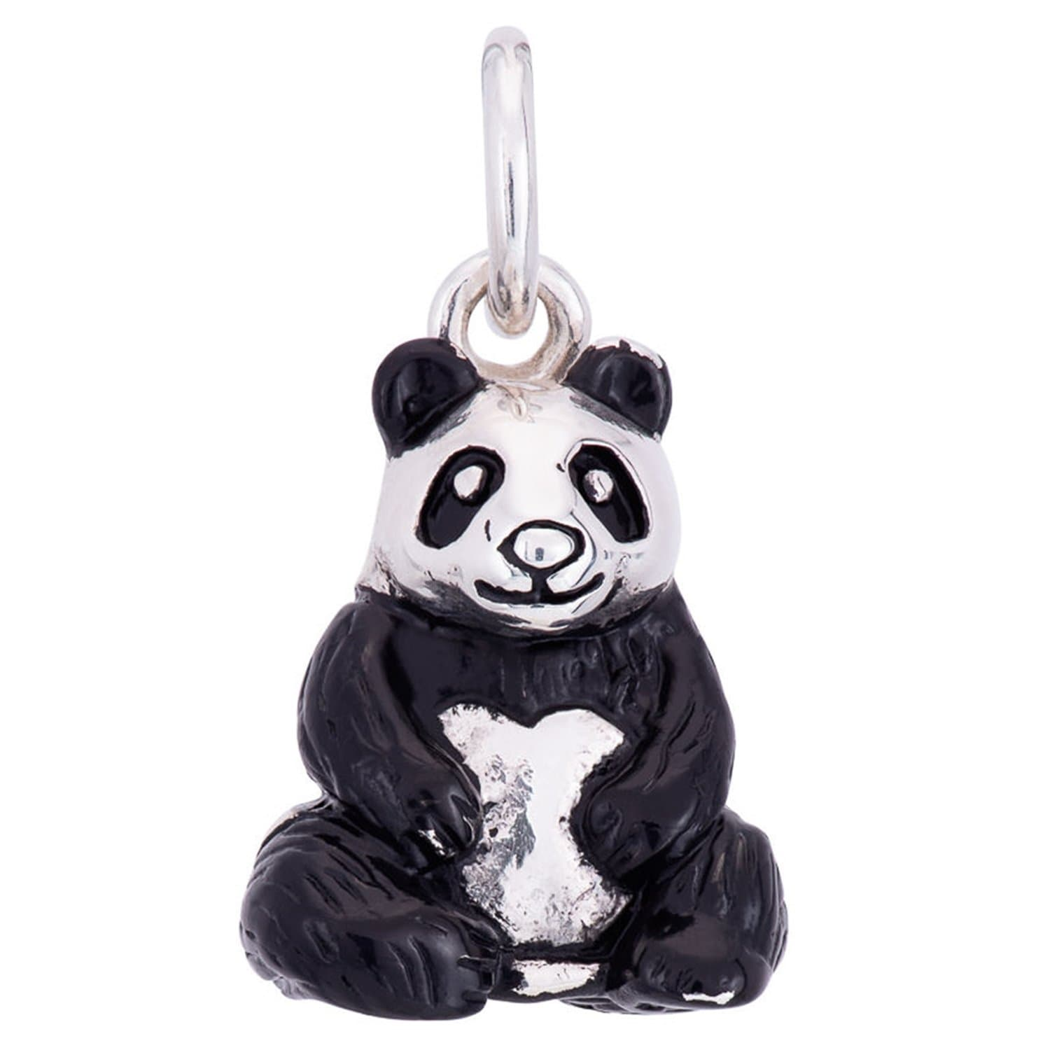 Silver Panda Charm - Lily Charmed