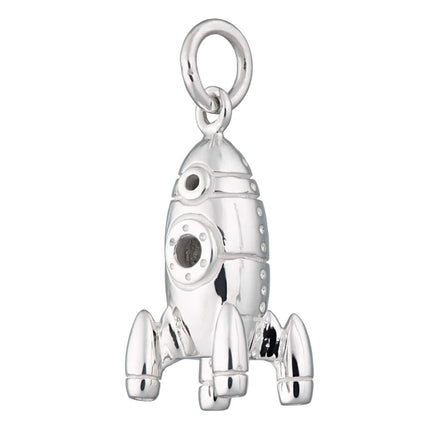 Silver Rocket Charm - Lily Charmed