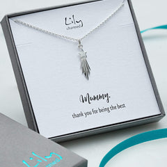 Personalised Silver Shooting Star Necklace