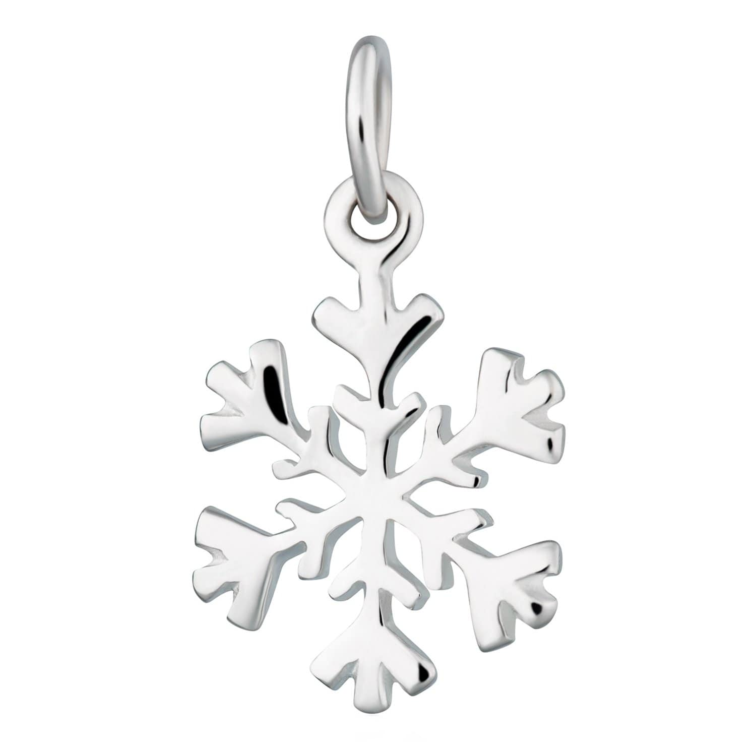 Silver Snowflake Charm - Lily Charmed