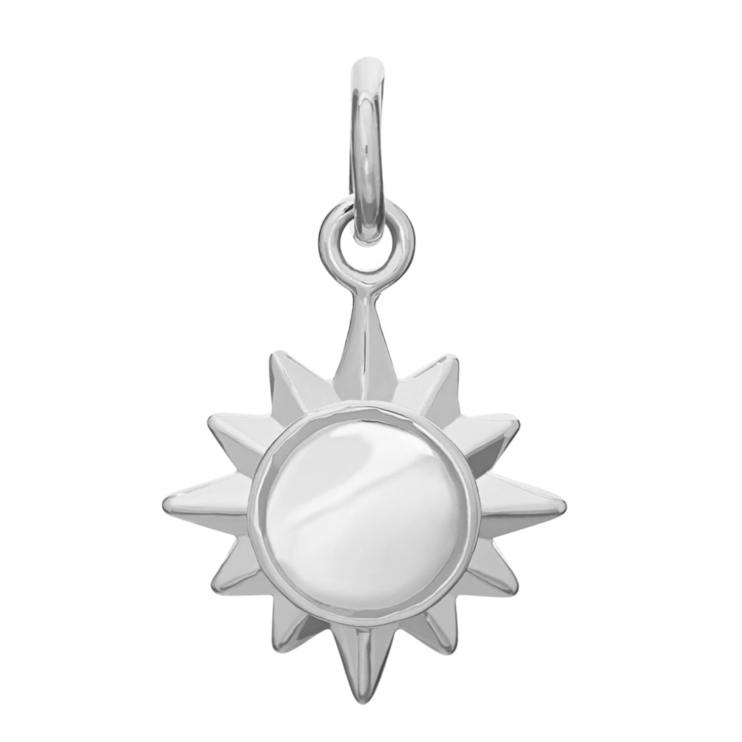 Silver Sunshine Charm - Lily Charmed
