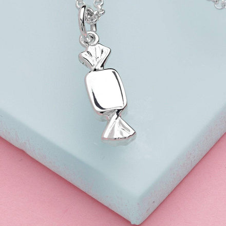 Personalised Silver Sweet Necklace