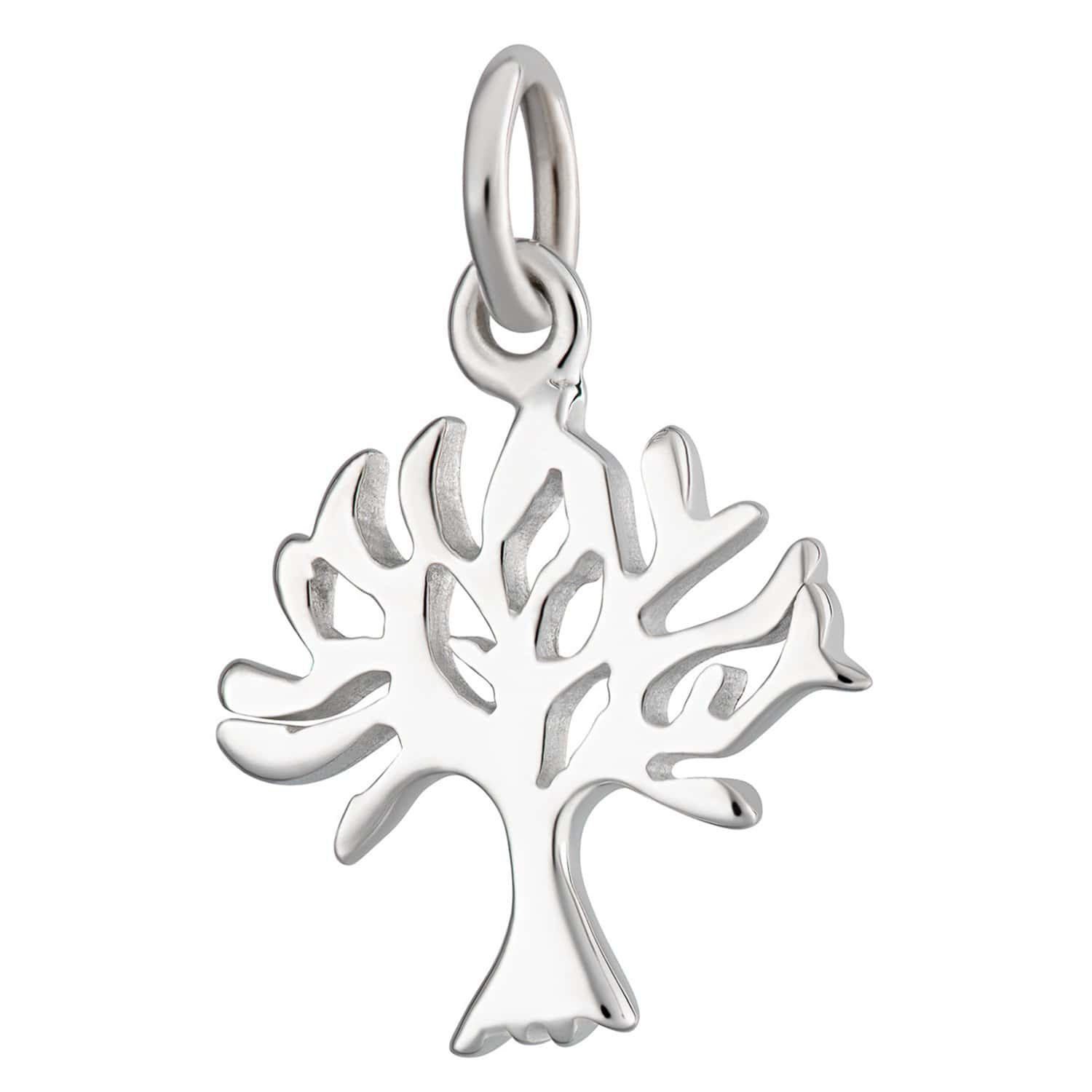 Silver Tree Charm - Lily Charmed